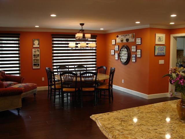Orange Village Kitchen Addition traditional-kitchen