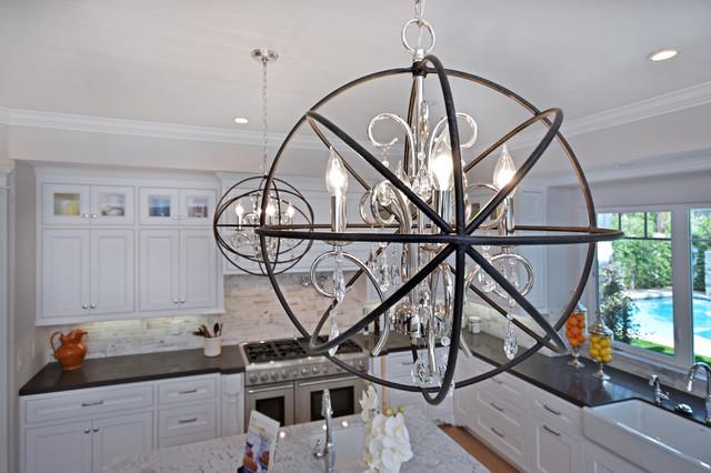 Orbit 3-Light Pendant traditional-kitchen & Orbit 3-Light Pendant - Traditional - Kitchen - Los Angeles - by ... azcodes.com