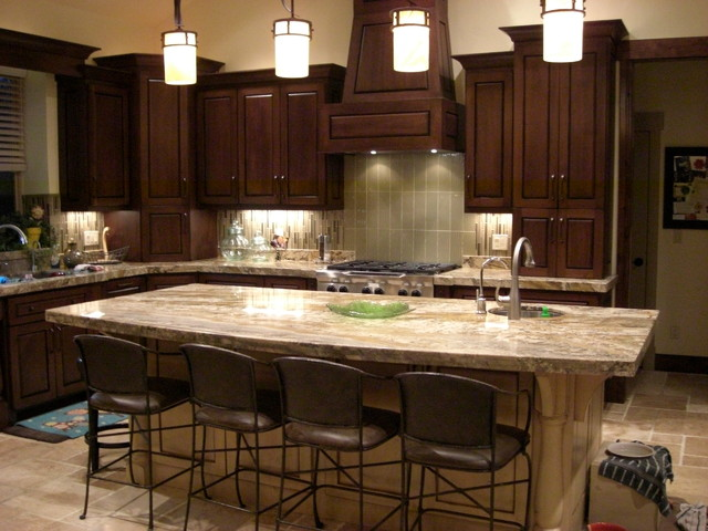 Orem Custom traditional-kitchen