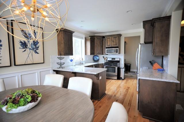 Inspiration for a transitional kitchen remodel in Salt Lake City