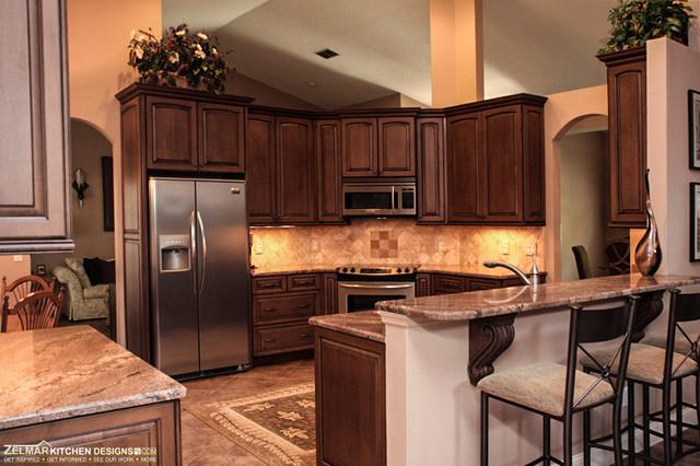 Oreskovich cabico zelmar kitchen remodel traditional for Colorado kitchen designs llc
