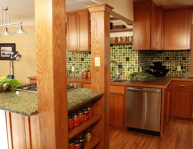 Organic Green Kitchen Traditional Kitchen Other By Kelli Kaufer Designs