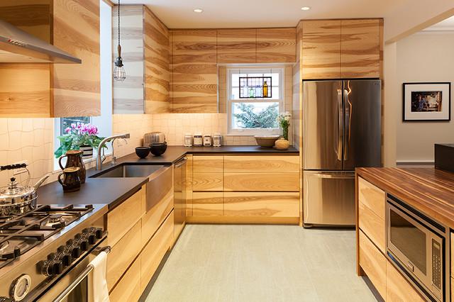 organic kitchen design. Organic Kitchen contemporary kitchen  Contemporary New York by RHG