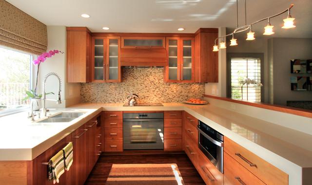 organic modern san diego contemporary kitchen other by brittney nielsen interior design. Black Bedroom Furniture Sets. Home Design Ideas