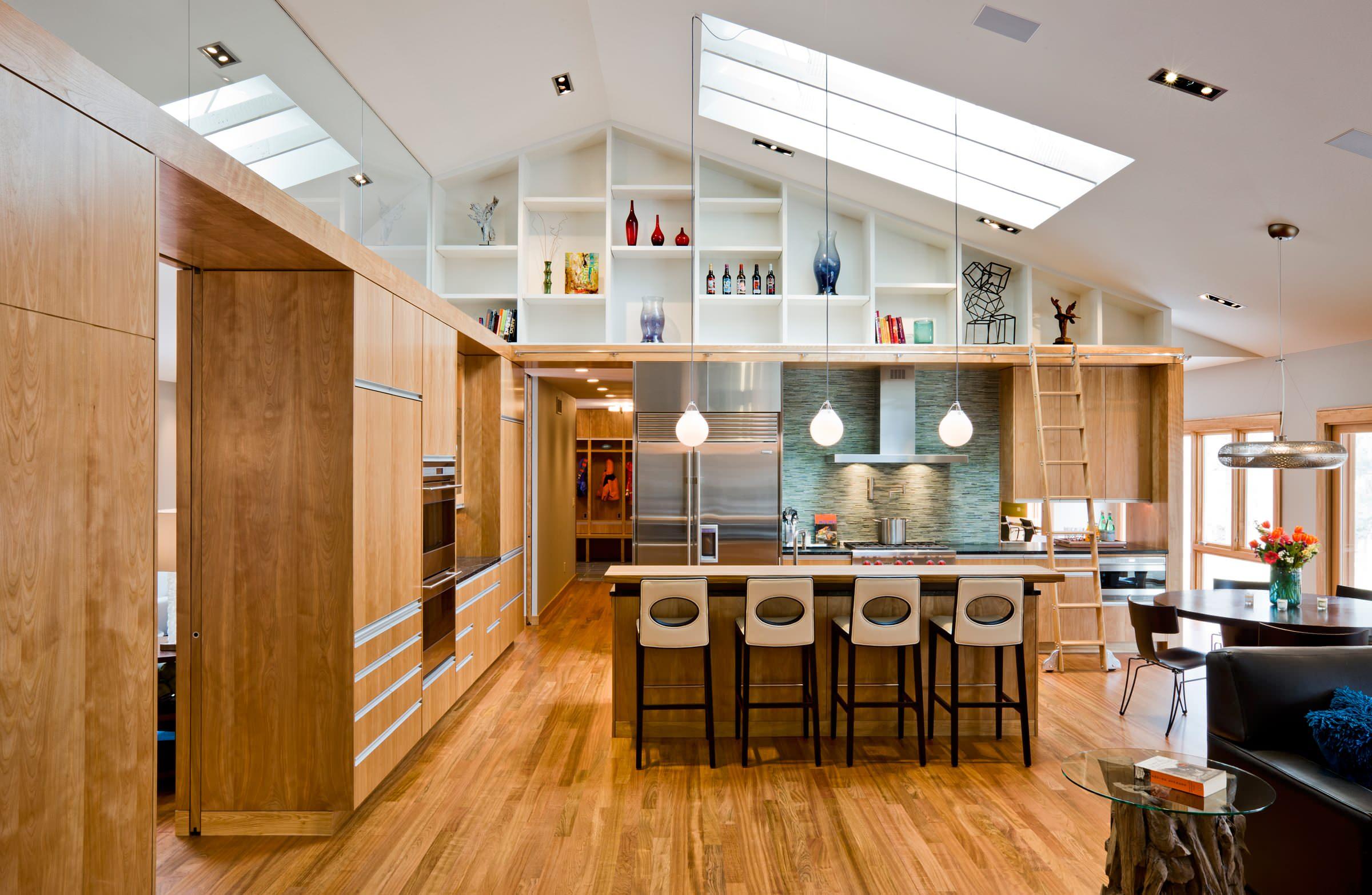 High Ceiling Modern Kitchen Photos Houzz