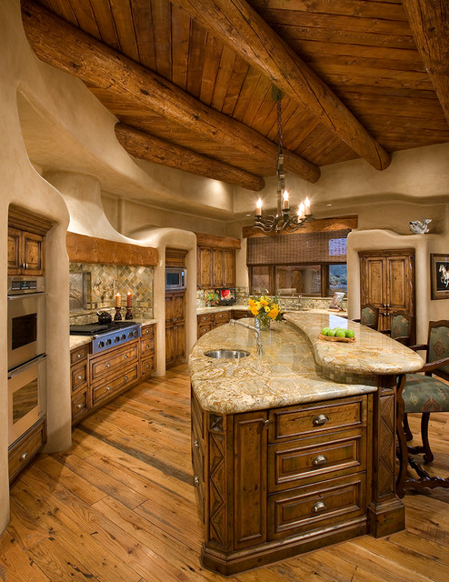 Organic Southwest Southwestern Kitchen