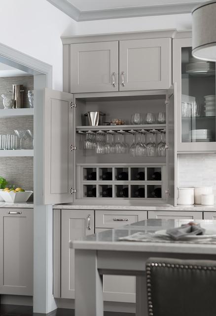 Organization transitional-kitchen