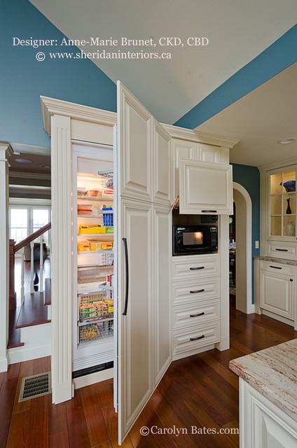 Organized Elegance traditional-kitchen