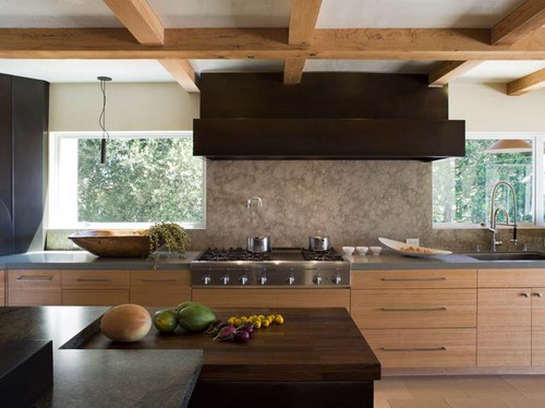 Orinda Japanese Country Kitchen eclectic kitchen