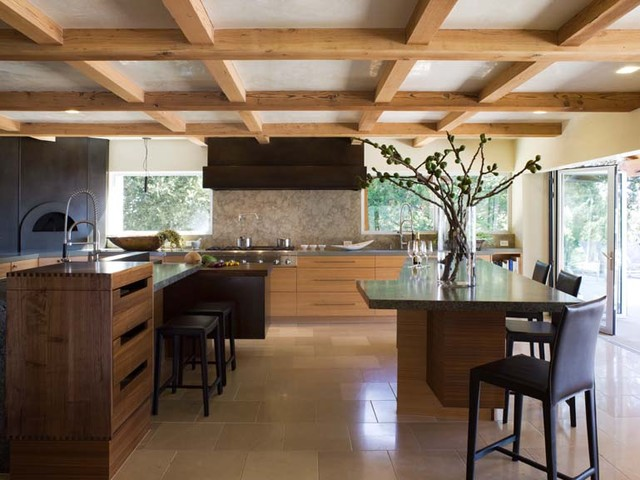 Orinda Japanese Country Kitchen eclectic-kitchen