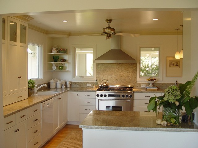 Orinda residence traditional-kitchen