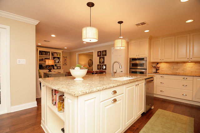 Orlando country club traditional kitchen remodel for Kitchen remodel orlando