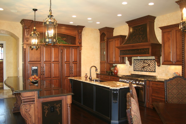 Cabinets Elizabethtown  Ornate Elizabethtown Kentucky Kitchen traditional-kitchen