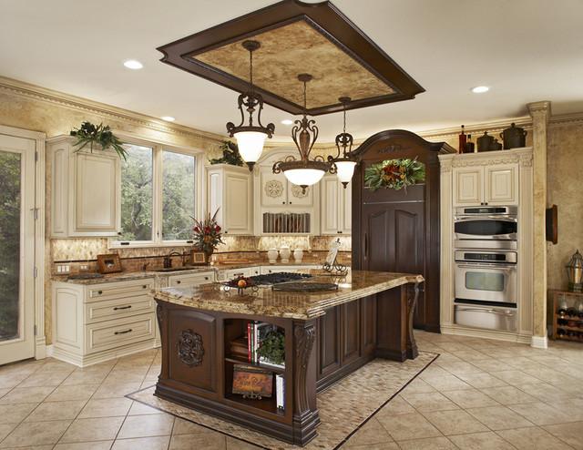 Ornate Traditional Kitchen in Dallas Area traditional kitchen dallas