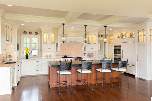 "Osterville Kitchen featured on Houzz as ""Kitchen of the Week"""