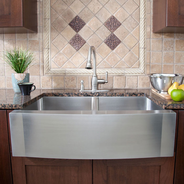 Otm designs remodeling sink contemporary kitchen for Contemporary kitchen sinks ideas