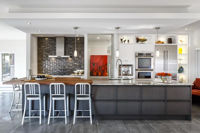 Ottawa Home In The Hills Modern Kitchen Amp Bath Astro
