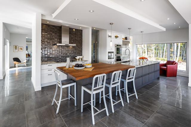 Ottawa Home in the Hills - Modern Kitchen & Bath - Astro Design ...