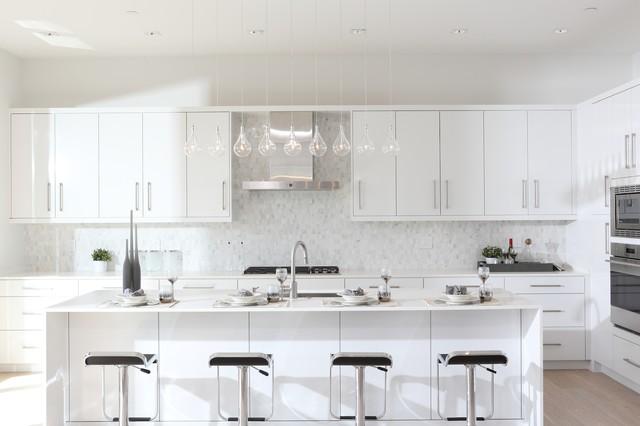 Ottawa contemporary kitchen vancouver by paramax homes for Acacia salon vancouver