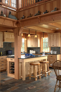 Http Www Houzz Co Uk Photos 3579473 Otter Tail Hunting Lodge Traditional Kitchen Minneapolis