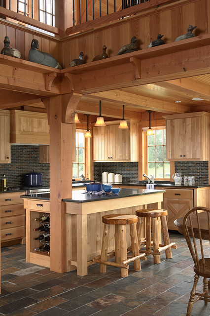 Otter tail hunting lodge traditional kitchen minneapolis by david heide design studio - Kitchen design minneapolis ...