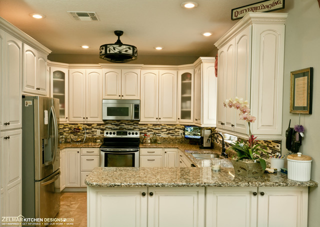 Otto Waypoint Zelmar Kitchen Remodel Traditional Kitchen Orlando By Zelmar Kitchen