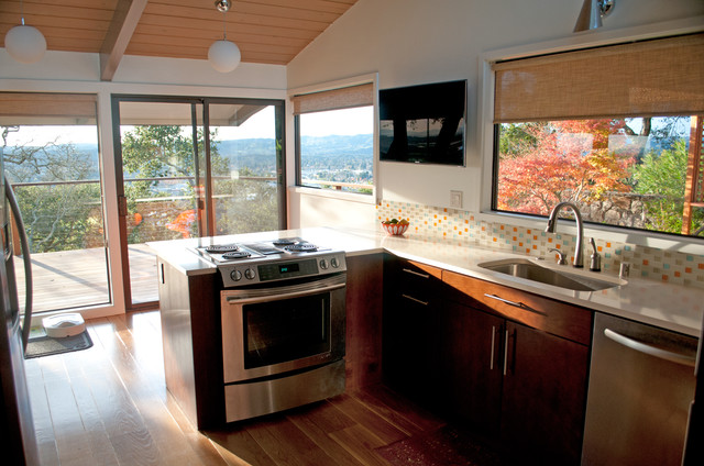 Our 1954 Mid Century Ranch Home, Napa, CA midcentury-kitchen