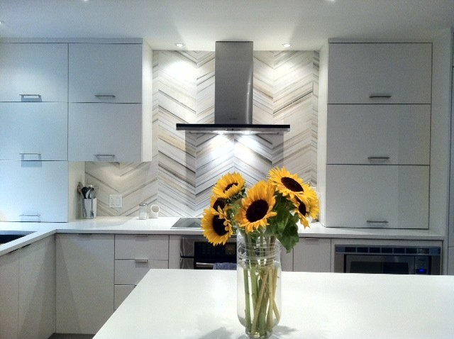 Our Kitchen Backsplash Modern