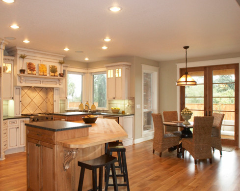 Our more recent work traditional-kitchen