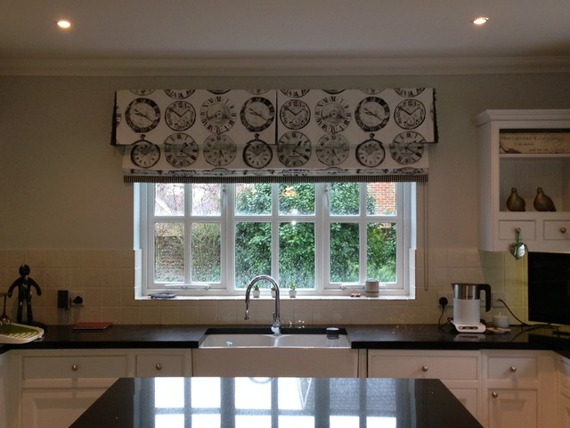 Our roman blinds contemporary kitchen other by for Kitchen roman blinds contemporary
