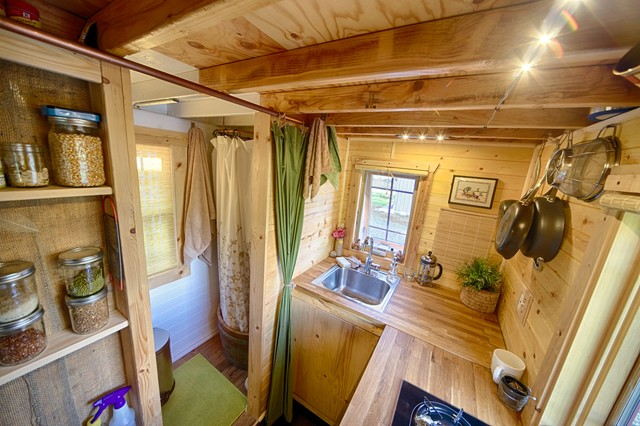 Our tiny tack house rustic kitchen seattle by the