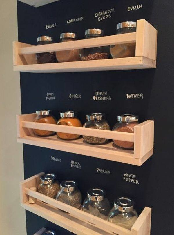 Inspiration for a shabby-chic style kitchen pantry remodel in Other