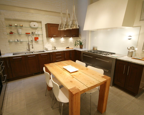 Kitchen Design Ideas Renovations Photos With Yellow Cabinets And Recycled Glass Countertops
