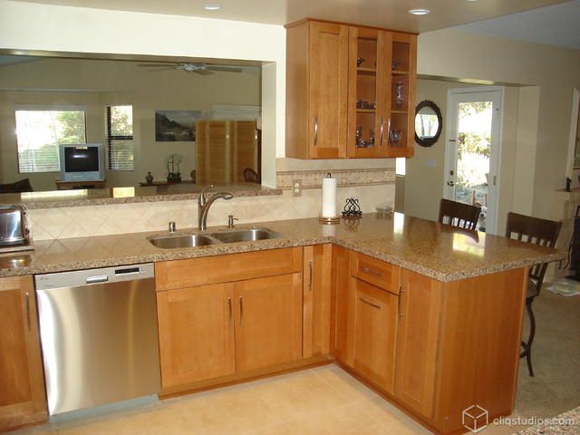 Cliqstudios Kitchen Cabinet Installation Guide Chapter: Outstanding Oak Kitchen Upgrade