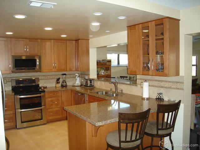 Outstanding Oak Kitchen Upgrade Traditional Kitchen
