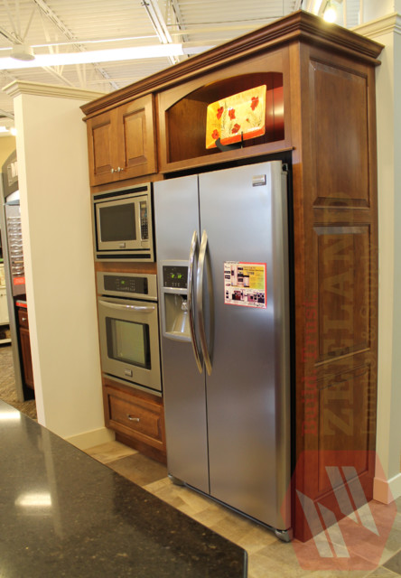 Oven Cabinet Combination - Traditional - Kitchen - grand rapids - by ...