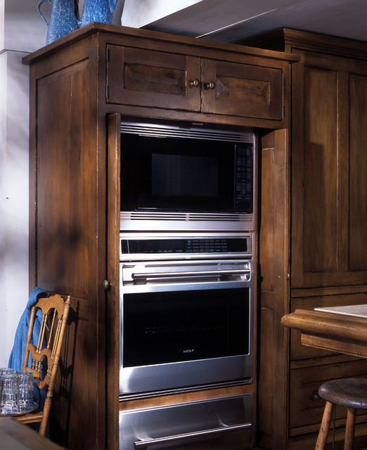 Oven Cabinet Traditional Kitchen