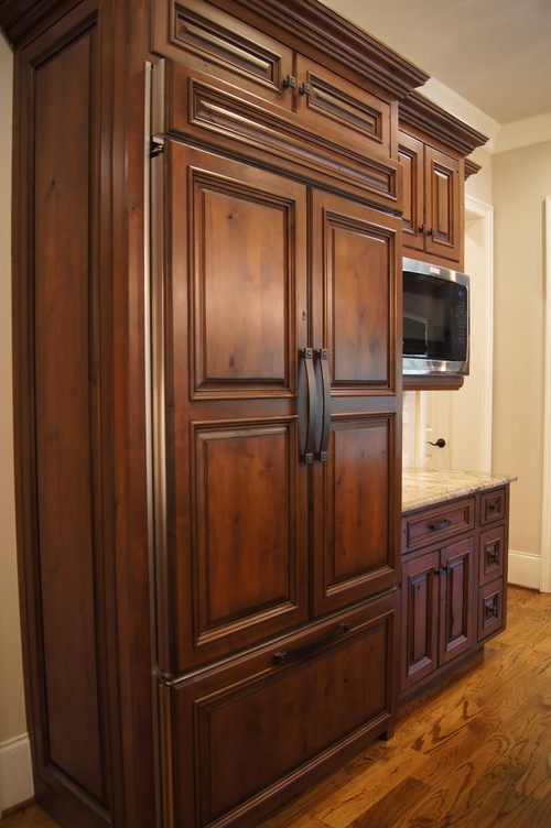 What type of wood and stain are these cabinets for Types of wood cabinets for kitchen