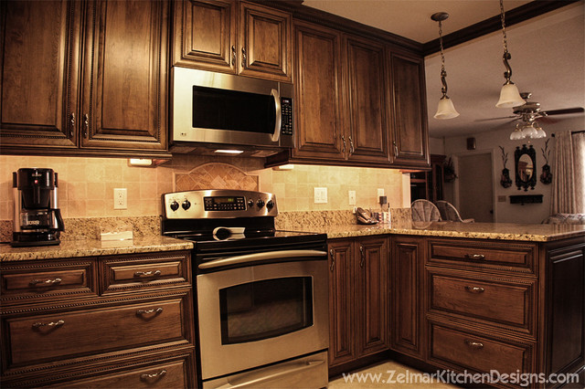 Owens Cabico Zelmar Kitchen Remodel Traditional Kitchen Orlando By Zelmar Kitchen