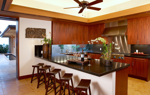 Ownby design tropical kitchen hawaii by ownby design - Tropical kitchen design ...