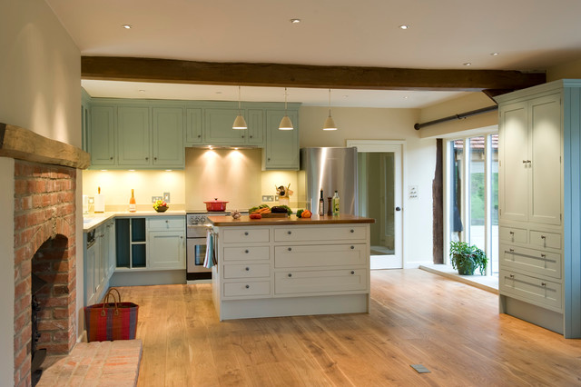 Oxfordshire Barn Conversion Country Kitchen Other