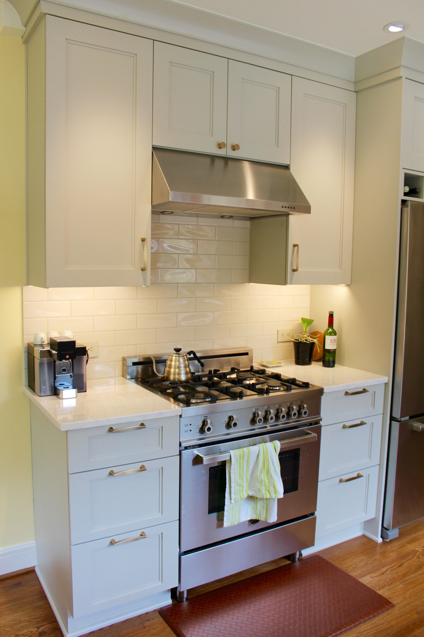 Oyster grey cabinets/Clintonville
