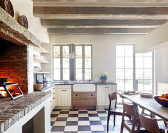 Oz Architects rustic-kitchen