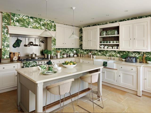 Colors That Enhance Cream Kitchen Cabinets, Cream Kitchen Cabinet Ideas