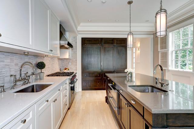 P Street Classico Cucina Washington D C Di Cecchi Homes Lc Houzz