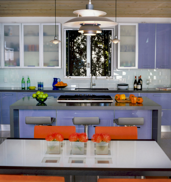 Pacific Beach View Home Contemporary Kitchen San