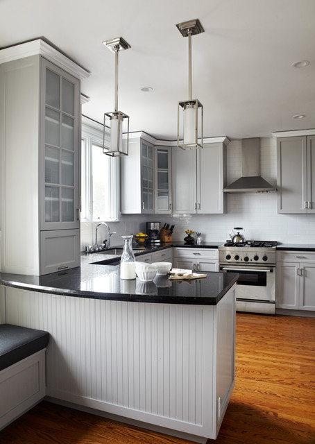 Pacific Heights Home Transitional Kitchen San