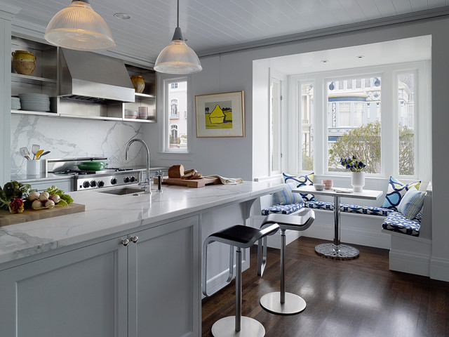 Pacific Heights transitional-kitchen