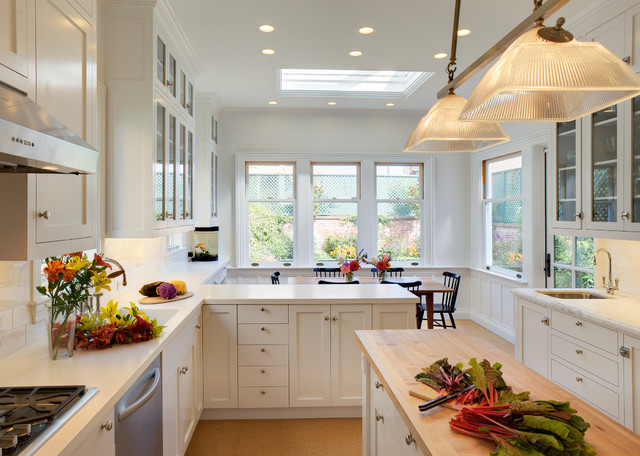 Pacific heights kitchen remodel traditional kitchen for Kitchen remodel san francisco