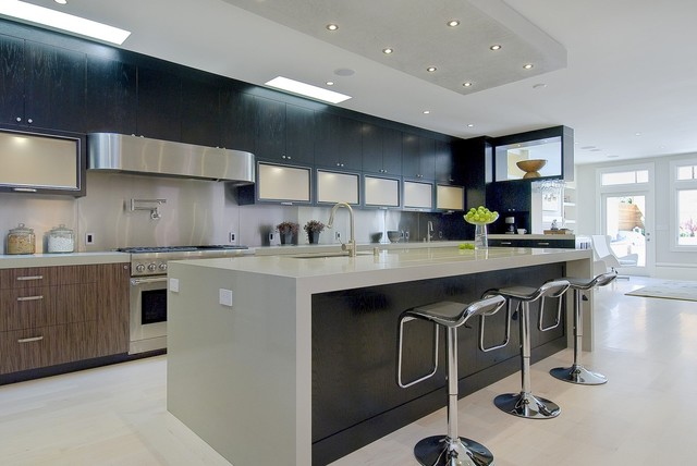 Pacific heights remodel and addition contemporary for Kitchen islands south africa